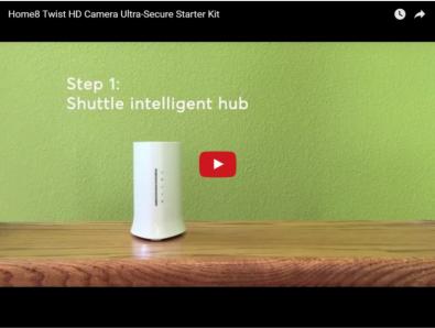 Home8 Twist HD Camera Starter Kit Video