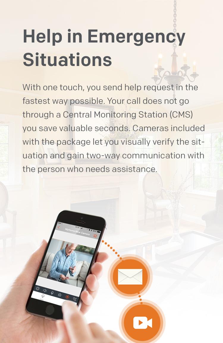 Video-Verified Security Emergency Help