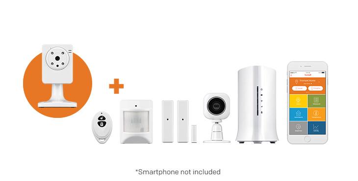Security kit plus IP cam